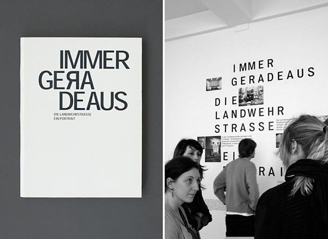 Laura Breier - Grafik - Immer geradeaus —BOOK